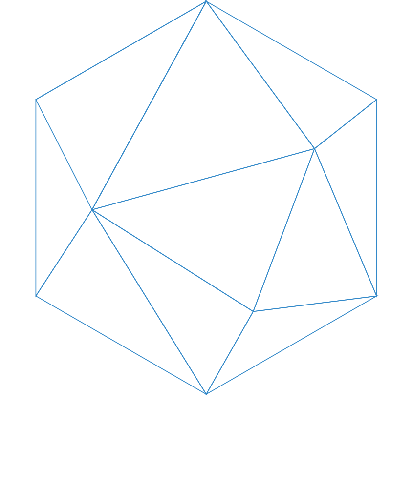 chainHero logo white blockchain development
